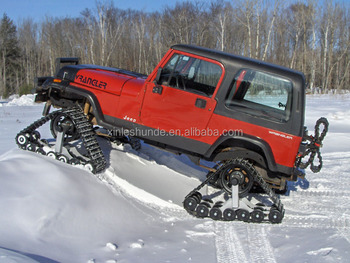 China Whole Price Jeep Rubber Track Conversion System