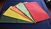 Spunbond Nonwoven Fabric for Disposable Table Cloth in many colours