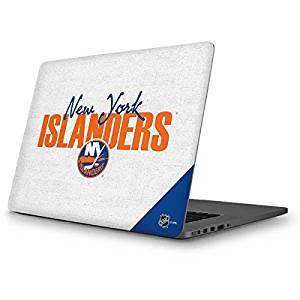 NHL New York Islanders MacBook Pro 13 (2013-15 Retina Display) Skin - New York Islanders Script Vinyl Decal Skin For Your MacBook Pro 13 (2013-15 Retina Display)
