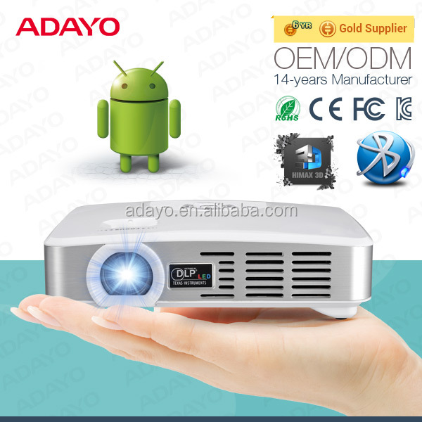 iphone 6s samsung compatible portable led projector