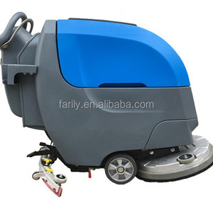Hot sale FL55 electric walk behind floor sweeper scrubber