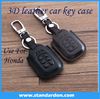 3D Genuine Leather Cowhide Key Ring Car Key Cover Key Case For Hondaa Spirior 9 Generation a ccord Ling Pie