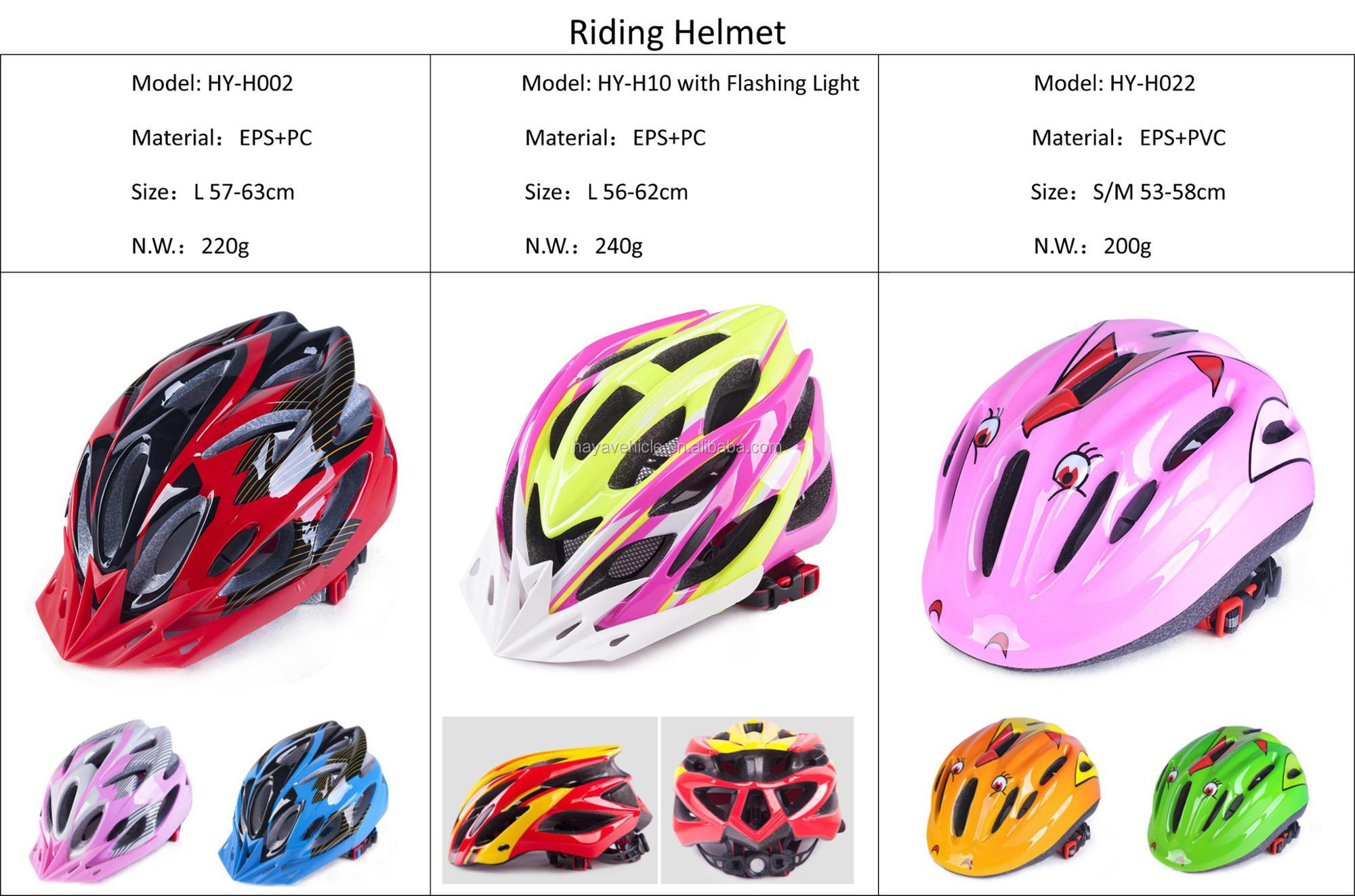 Hot sell colourful safety bike helmet for outdoor sports riding