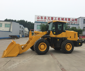 construction equipment 3 ton CE approved china wheel loader
