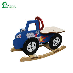 Wholesale China Children Toy Wooden Cheap Kids Rocking Horse