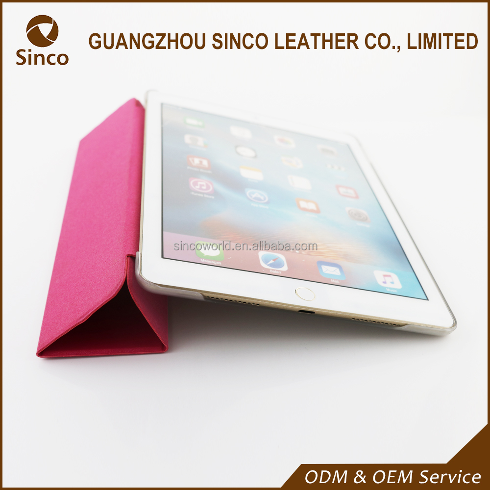 Fashionable folio stand case tablet case for iPad air