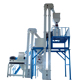 3-5ton/h chicken feed production line in Turkey