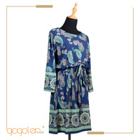 manufacturer china unique print latest pattern traditional chinese dress for wholesale