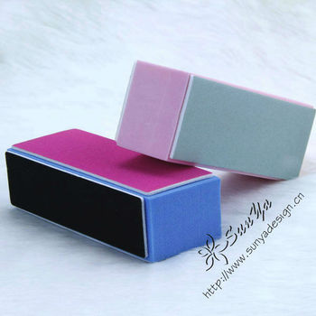 Beauty Buffer Buffing Sanding Files Block Acrylic Nail Art Tips ...