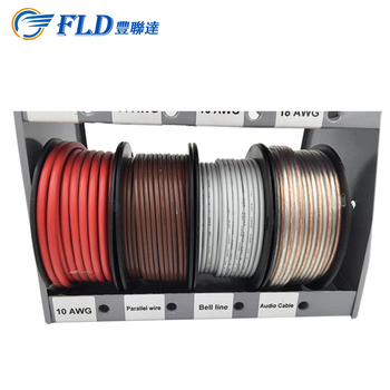 High Quality Cable Wire Display Rack Store 12 Spool Of Awg10-22 Awg ...