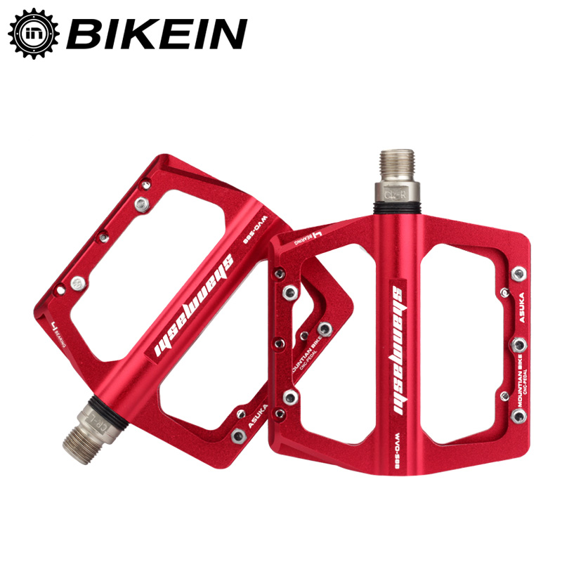MTB Cycle Bike Bicycle Platform Pedals Green//Gold//Red//Blue//Silver//Black//Titanium