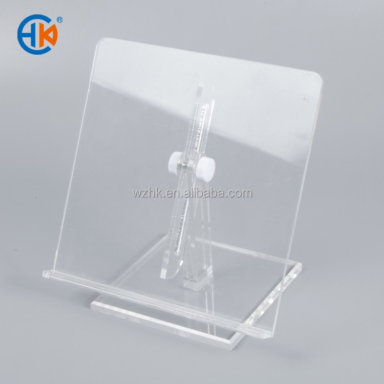 Clear counte top acrylic square 4x4 memo pad holder
