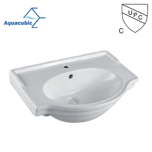 Beautiful Ceramic Small Size Upc Bathroom Washing Basin Sink