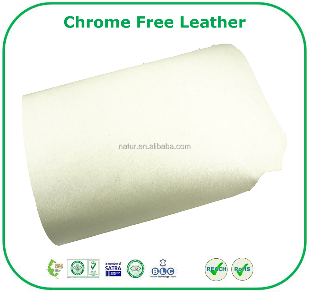 Superb Quality 100% Chrome Free Leather Cow Finished Genuine Leather
