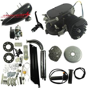 Electric Start 49cc 50cc 80cc Stroke Gas Gasoline Bicycle Motor 2 Cycle Bike Engine Kit