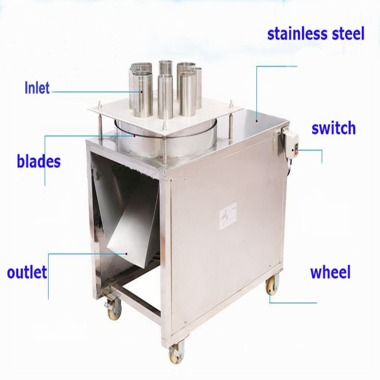 Fruit And Vegetable Slicing Machine For Banana Carrot