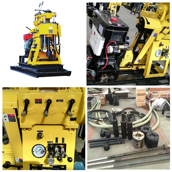 Pneumatic Crawler Air Baik Pengeboran Rig Mesin
