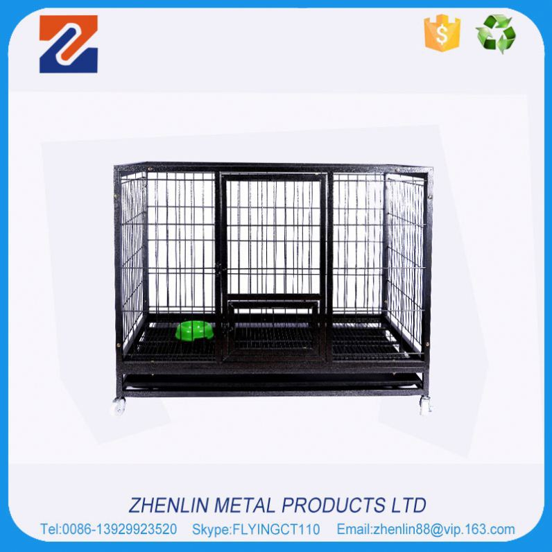 Brand new high quality supplier pet cage durable doors dog crate