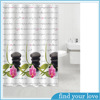 High Quality Home Goods Custom Printed Shower Curtains