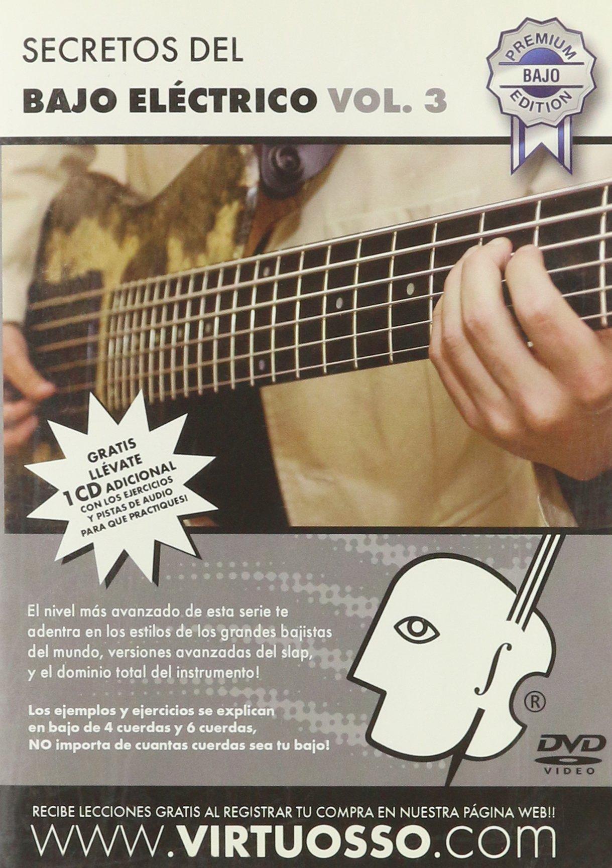 Virtuosso Electric Bass Method Vol.3 (Curso De Bajo Eléctrico Vol.3) SPANISH ONLY