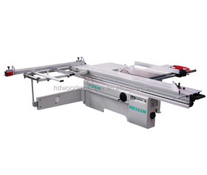 Heavy Duty Wood Cutting Sliding Table Saw Machine With Scoring Blade HD320M
