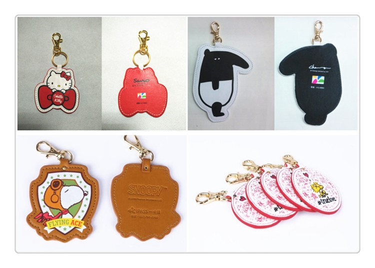 Best Promotional Gift Handcraft Genuine Leather Key Case