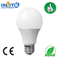 high brightness led bulb, 3w 5w 7w 10w 12w Plastic, 220 volt led lights