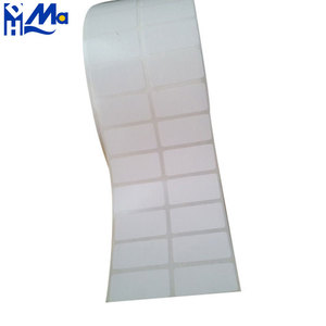 Transparent Strong Adhesion Without Any Residual After Easly Peel Off Round Seal Packaging Label Blank Sticker