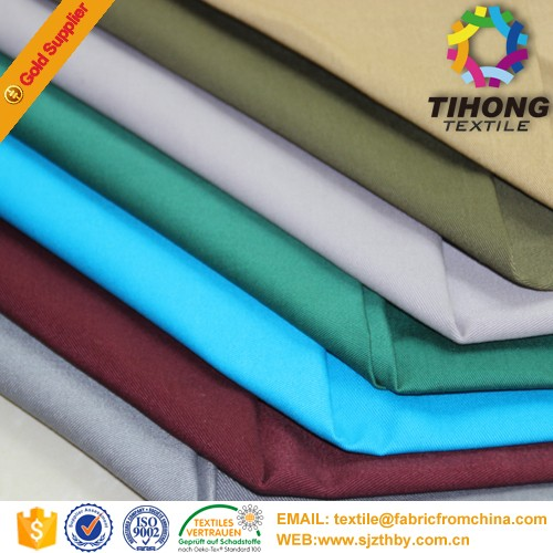 2016 hot sale peach heavy 100 cotton drill fabric suppliers