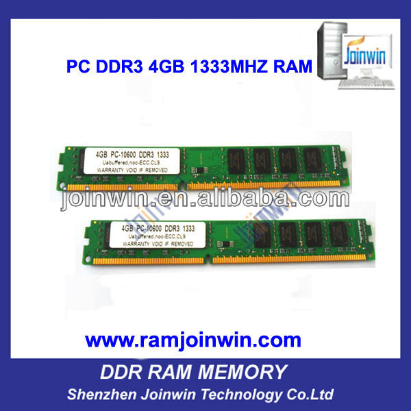 Lowest price thin client full compatible memory ddr3 4gb 1333mhz