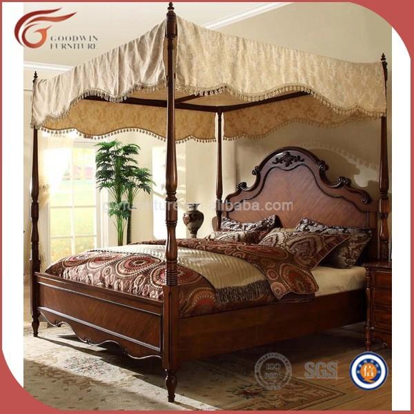 고급 가구 킹 사이즈 침대, 왕실 고전적인 침실 세트-침대 -상품 ...