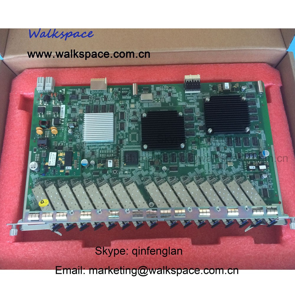 16 SFP Modules C+ ZTE 16 Ports GPON Board GTGH Apply ZTE OLT C300 C320