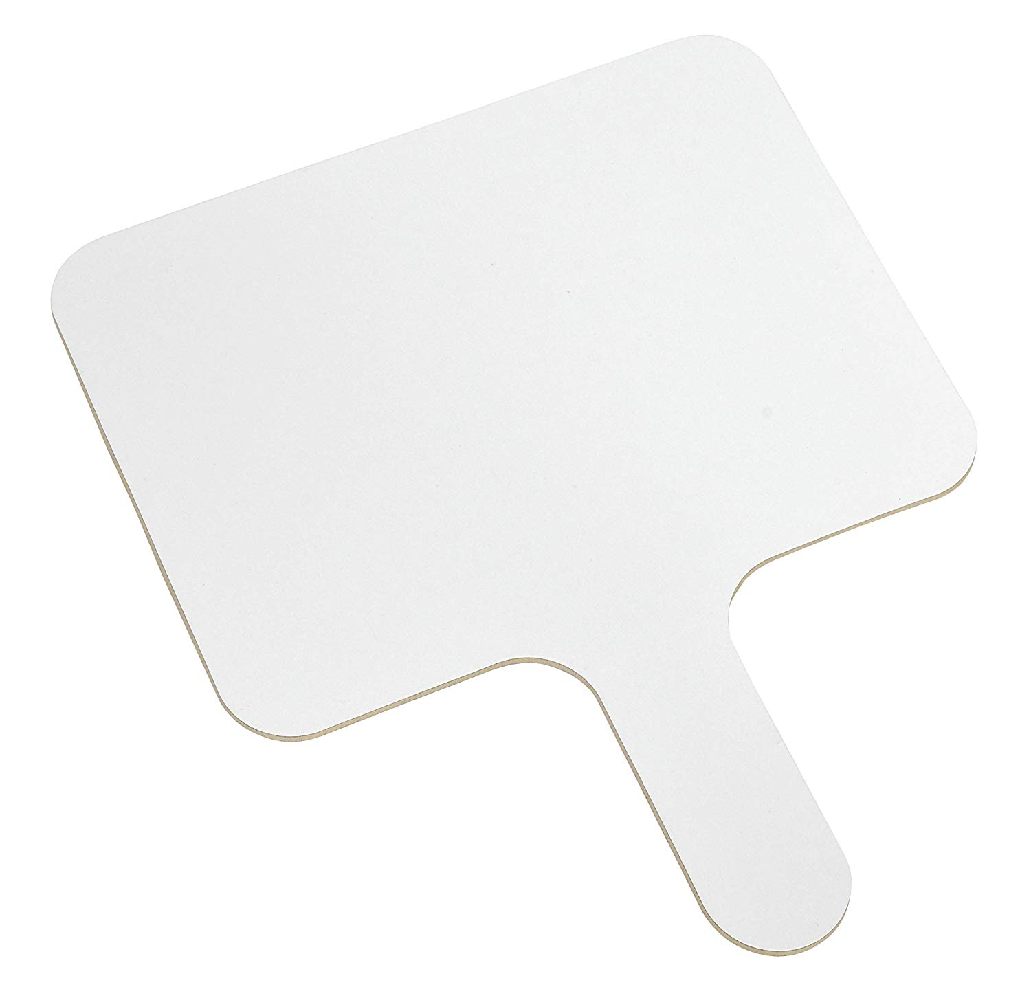 """8"""" x 6"""" Mini Dry Erase Board Paddle (Dual Sided - Games, Activities - Classroom, Teacher, Student, Learn, Homework, Study - Office, Presentation, Meeting, Boss)"""