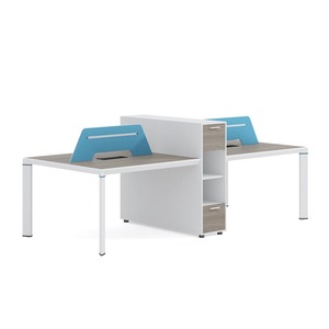 VISKY Office Use 2-4 People Workstation Top Sell Wooden Working Table Computer Desk