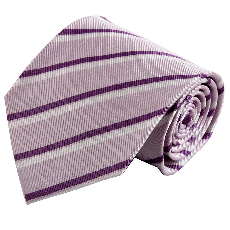 1e1708c32eb Get Quotations · Purple Mens Ties Thistle Stripes Woven Silk Tie Set Mens  necktie Set FAA1092