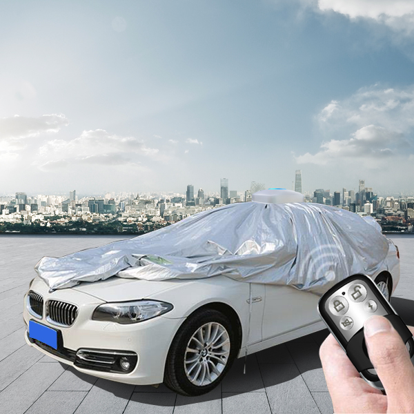 Luxury ultraguard stretch satin well fitted indoor outdoor dust proof car cover