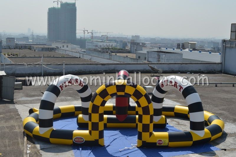 2015 Inflatable Go Karts Race Track/inflatable race track Z5052