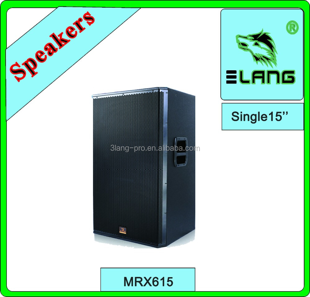 MRX615 amplifier speakers at 8 ohms