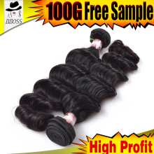 Good prices raw virgin unprocessed rebe hair