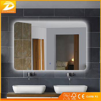 2017 Modern Wall Bath Led Mirror Touch Switch Bathroom Light Product On