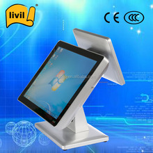 15 inch capacitive restaurant payment terminal/ point of sales terminal