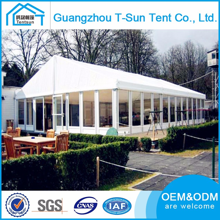Aluminium glass structure wedding tent,luxury wedding tent with glass walls