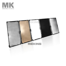 Reflector 5in1 100cm*200cm/40″*80″ With Alumininum Frame gold silver white black photography diffuser Photo Studio Accessories