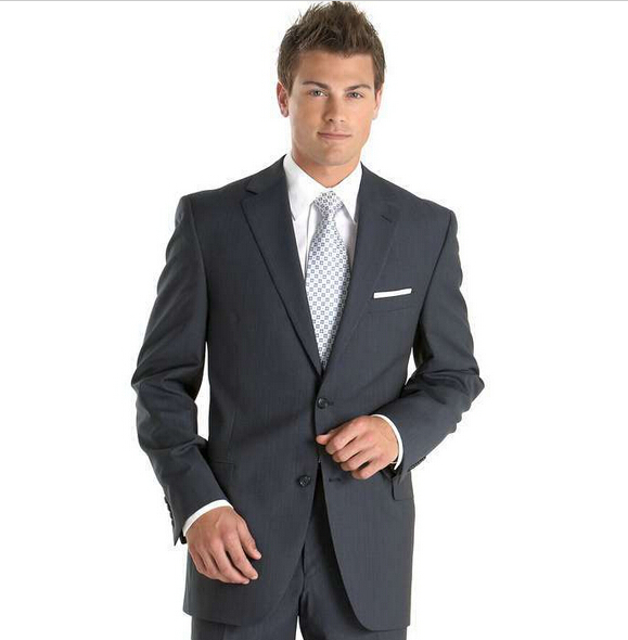 Michealboy 3PC Men/'s Suit Notch Lapel Skinny Blazer Vest Pants Custom Made Tuxedo
