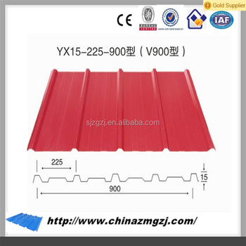 Widely Used Corrugated Metal Roofing Sheet Fiber Roofing Sheets