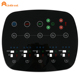 PET/PC/PMMA keypad button material and capacitive touch switch custom prototype membrane switch flat panel no dome keyboard