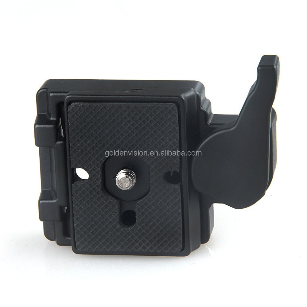 Camera 323 Quick Release Plate with Special Adapter (200PL-14) Use for Manfrotto 323