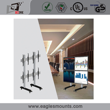 New arrival best-selling quad screens tv stand bracket mount rotation