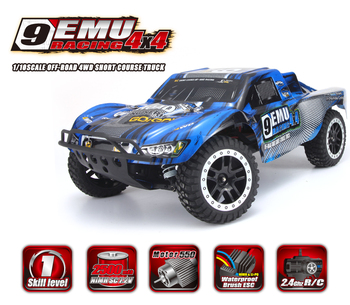 Remo Hobby 9emu 1021 1/10 Scale Electric 4wd 2.4ghz Rc Off-road