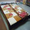 Pure Wool Jamawar Bedspreads For Real Animal Fur Blanket Wholesale ...